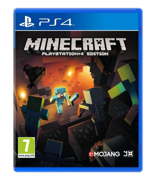 Minecraft - Ps4 - Nerd e Geek - Presentes Criativos