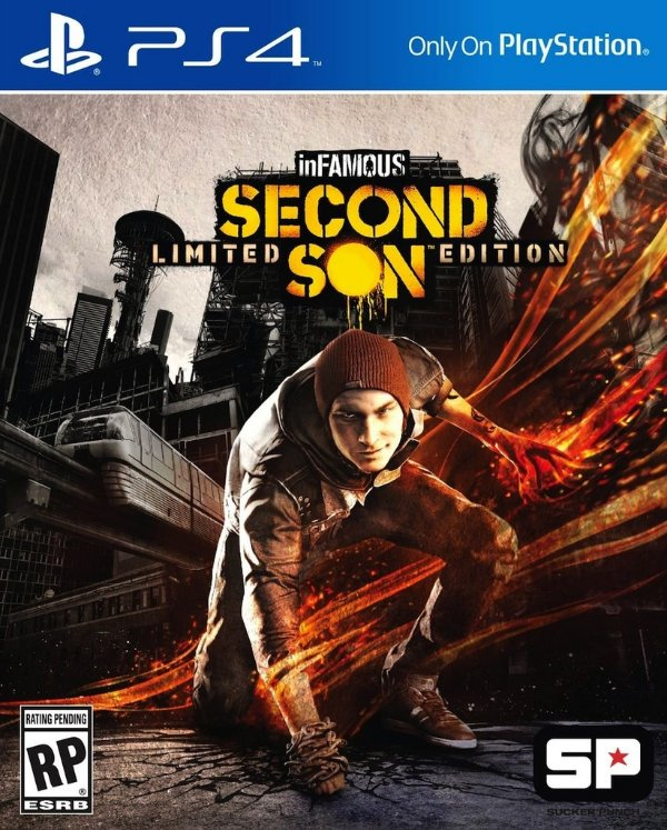 Infamous: Second Son - Ps4 - Nerd e Geek - Presentes Criativos