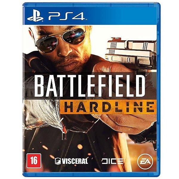 Battlefield Hardline Br - Ps4 - Nerd e Geek - Presentes Criativos