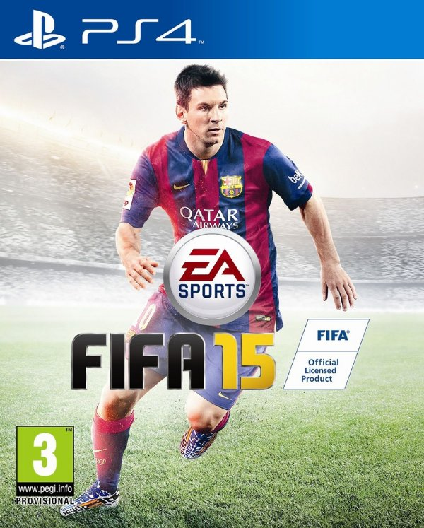 Game Fifa 15 - Ps4 - Nerd e Geek - Presentes Criativos