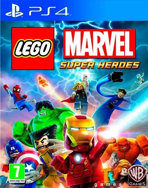 Lego Marvel Super Heroes - Ps4 - Nerd e Geek - Presentes Criativos