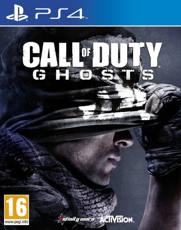 Call Of Duty: Ghosts - Ps4 - Nerd e Geek - Presentes Criativos