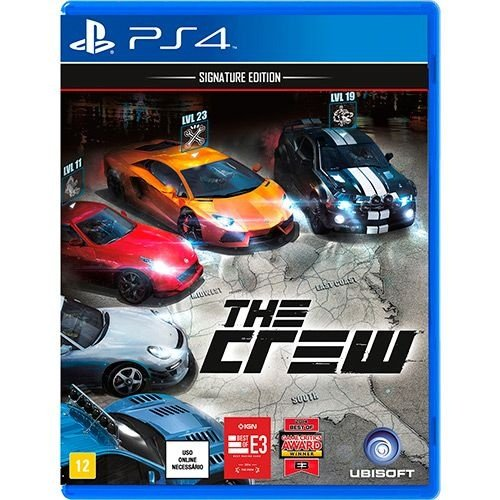 The Crew: Signature Edition - Ps4 - Nerd e Geek - Presentes Criativos