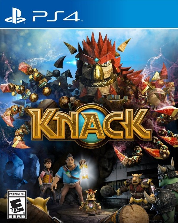 Knack - Ps4 - Nerd e Geek - Presentes Criativos
