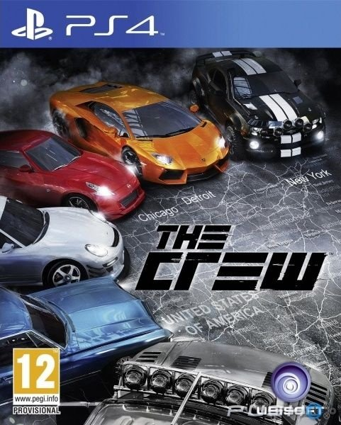 The Crew - Ps4 - Nerd e Geek - Presentes Criativos