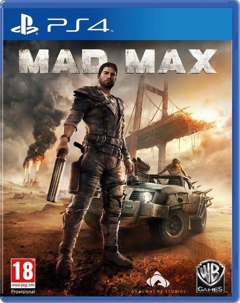 Mad Max - Ps4 - Nerd e Geek - Presentes Criativos