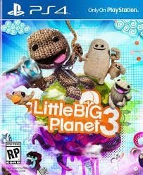 Little Big Planet 3 - Ps4 - Nerd e Geek - Presentes Criativos