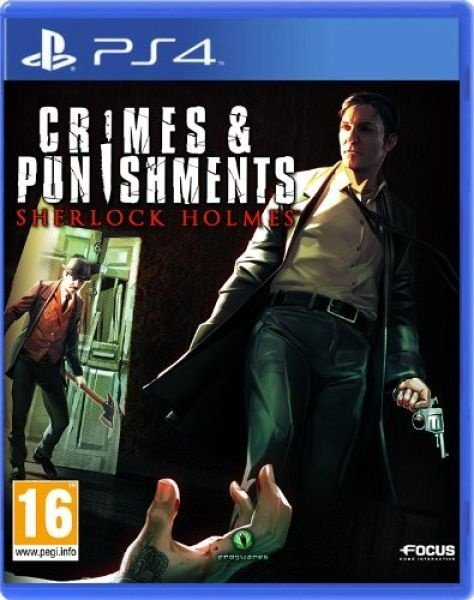 Crimes And Punishment - Sherlock Holmes - Ps4 - Nerd e Geek - Presentes Criativos