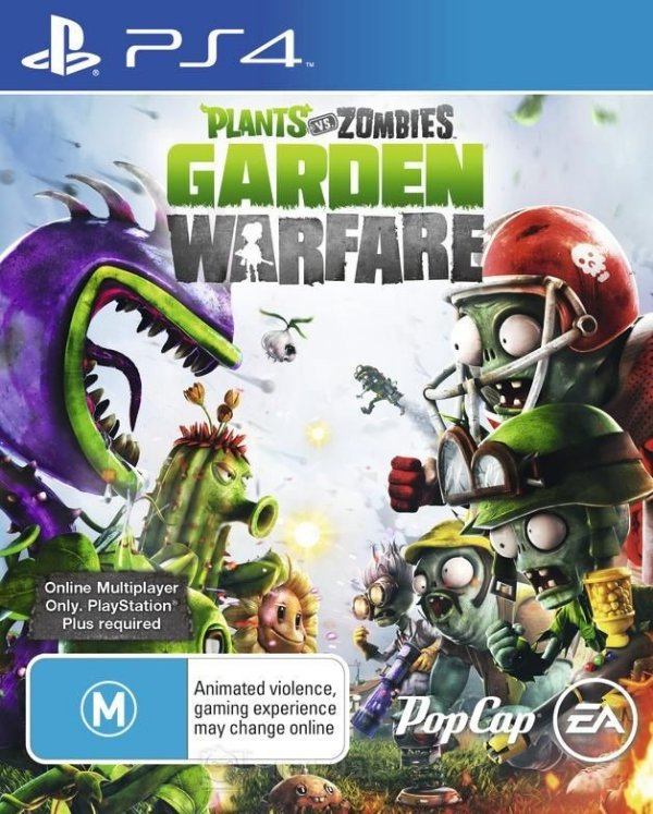 Plants Vs Zombies: Garden Warfare - Ps4 - Nerd e Geek - Presentes Criativos