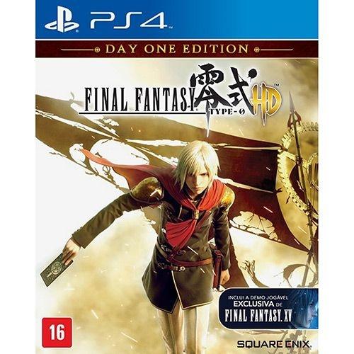 Final Fantasy Type-0 Hd: Edição Day One - Ps4 - Nerd e Geek - Presentes Criativos
