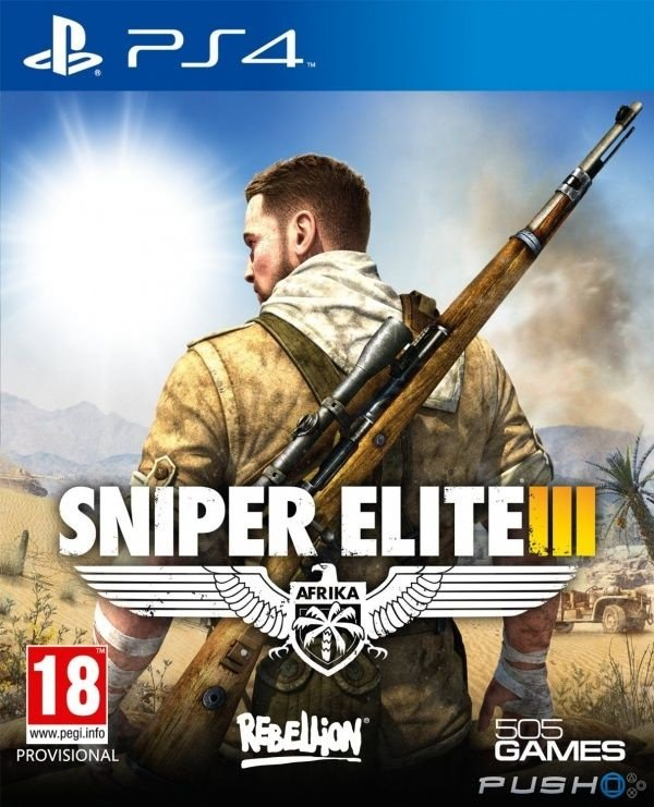 Sniper Elite 3 - Ps4 - Nerd e Geek - Presentes Criativos
