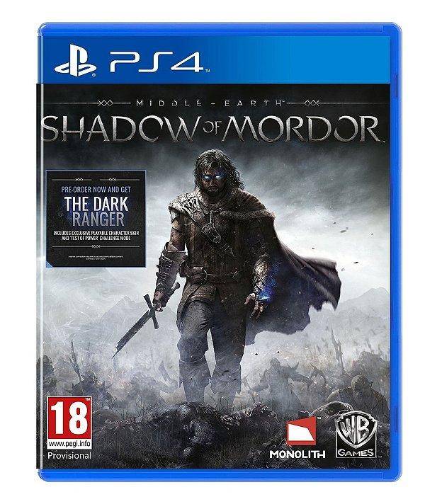 Terra-Média: Sombras De Mordor - Ps4 - Nerd e Geek - Presentes Criativos