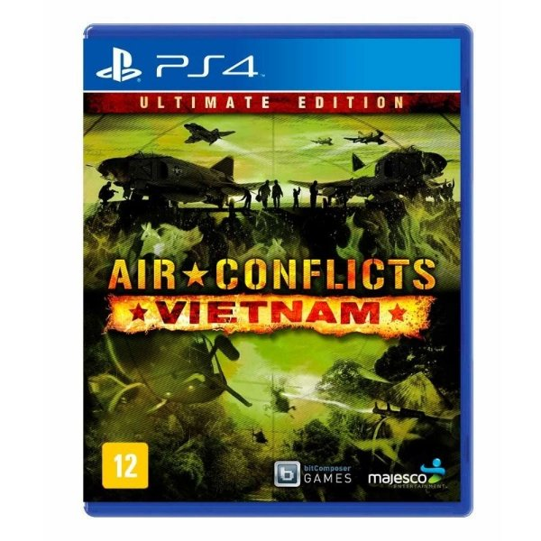 Air Conflicts: Vietnam - Ultimate Edition - Ps4 - Nerd e Geek - Presentes Criativos