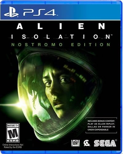 Alien: Isolation - Nostromo Edition - Ps4 - Nerd e Geek - Presentes Criativos