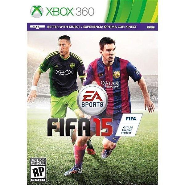 Fifa 15 - Xbox 360 - Nerd e Geek - Presentes Criativos