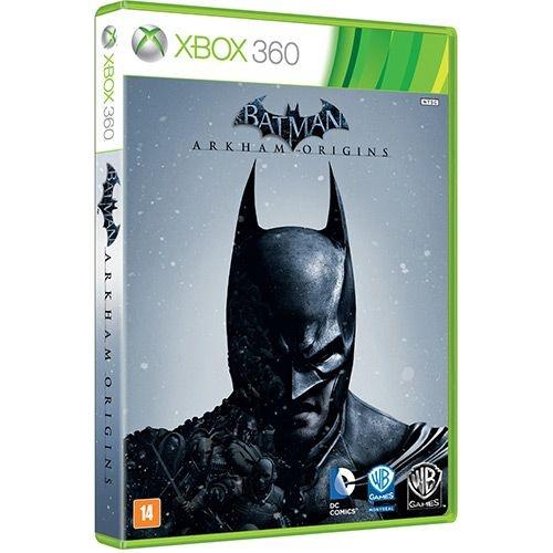 Batman: Arkham Origins Br - X360 - Nerd e Geek - Presentes Criativos