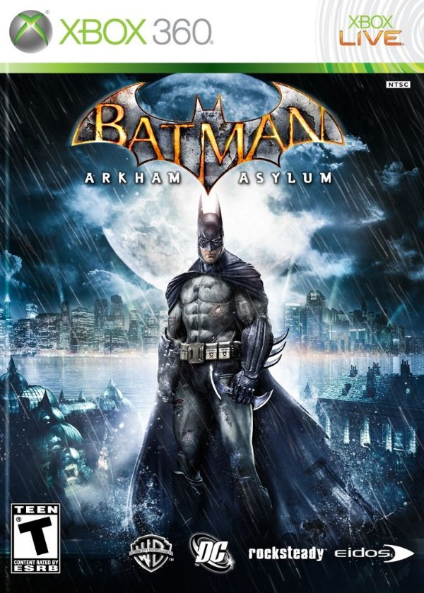 Batman: Arkham Asylum - Xbox 360 - Nerd e Geek - Presentes Criativos