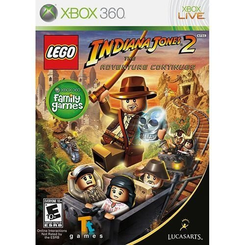 Lego Indiana Jones 2: The Adventure Continues - Xbox 360 - Nerd e Geek - Presentes Criativos