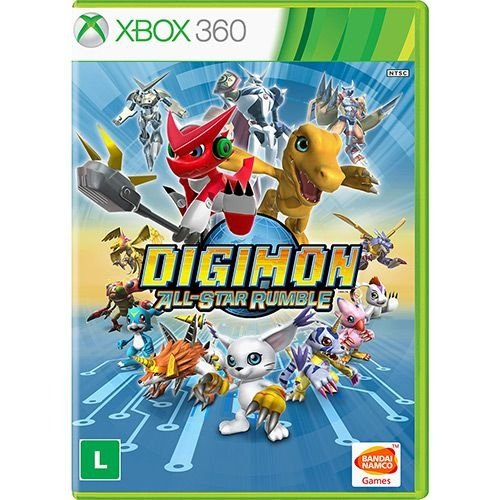 Digimon All-Star Rumble - Xbox 360 - Nerd e Geek - Presentes Criativos