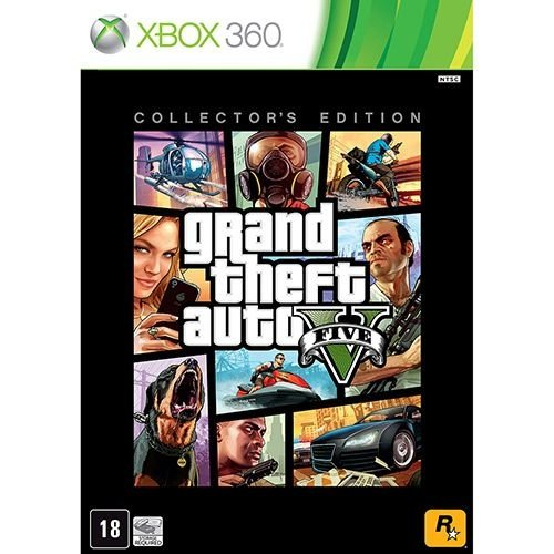Grand Theft Auto V: Collector'S Edition - Xbox 360 - Nerd e Geek - Presentes Criativos