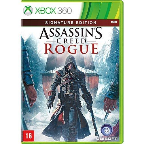 Assassin'S Creed Rogue: Signature Edition - Xbox 360 - Nerd e Geek - Presentes Criativos