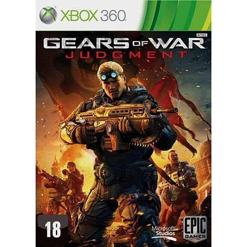 Gears Of War: Judgment - Exclusivo Para Xbox 360 - Nerd e Geek - Presentes Criativos