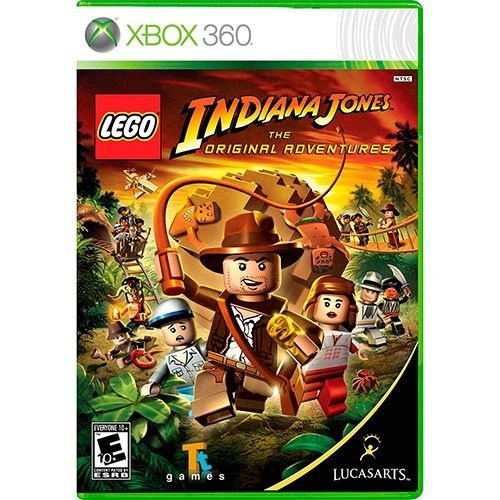 Lego Indiana Jones: The Original Adventures - Xbox 360 - Nerd e Geek - Presentes Criativos