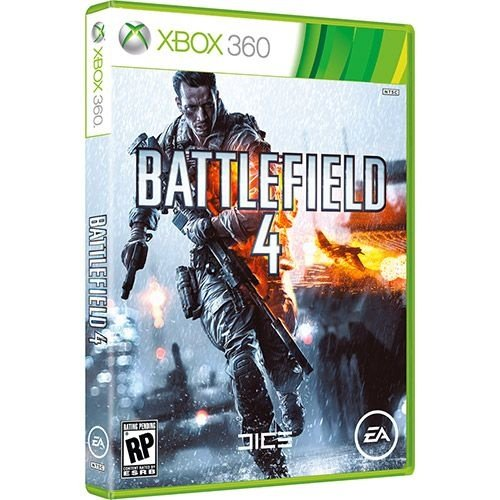 Game Battlefield 4 - Xbox 360 - Nerd e Geek - Presentes Criativos