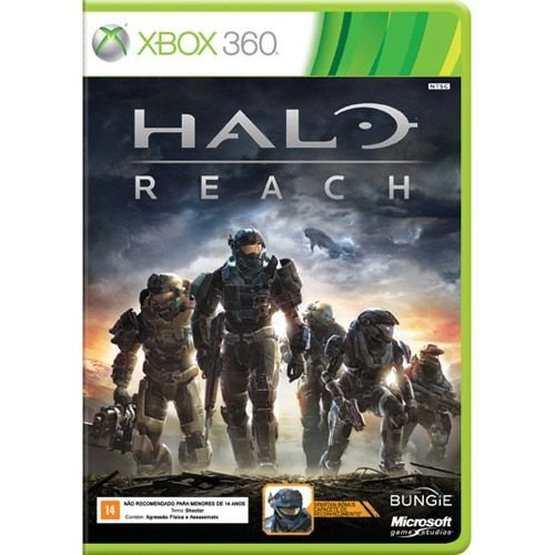 Halo Reach - Xbox360 - Nerd e Geek - Presentes Criativos