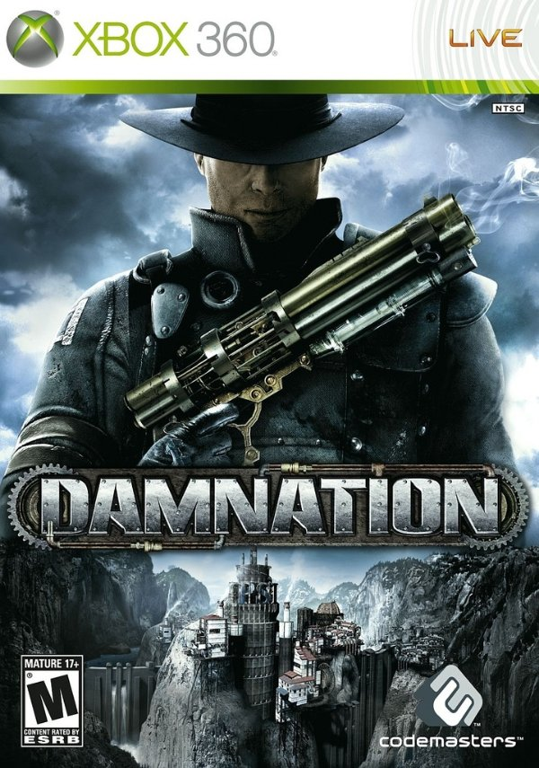 Damnation - Xbox 360 - Nerd e Geek - Presentes Criativos