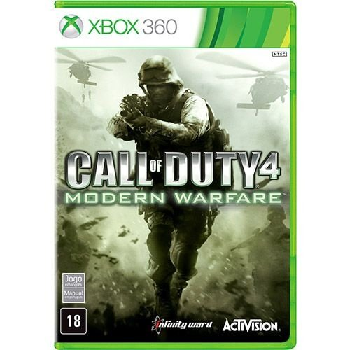 Call Of Duty Modern Warfare - Xbox 360 - Nerd e Geek - Presentes Criativos