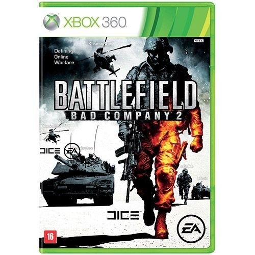 Battlefield: Bad Company 2 - X360 - Nerd e Geek - Presentes Criativos