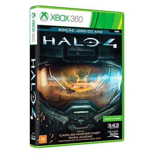Halo 4 (Edição Jogo Do Ano) - Xbox 360 - Nerd e Geek - Presentes Criativos