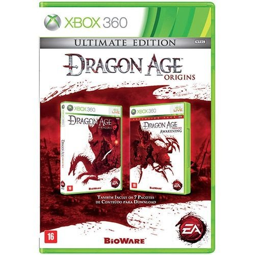 Dragon Age Origins: Ultimate Edition - Xbox 360 - Nerd e Geek - Presentes Criativos