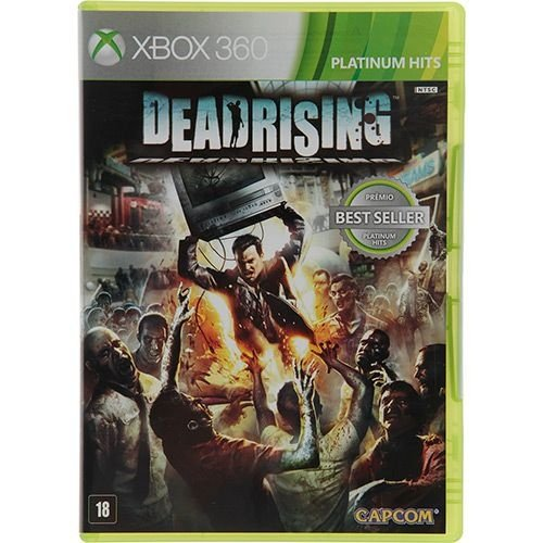 Dead Rising: Platinum Hits - Xbox 360 - Nerd e Geek - Presentes Criativos