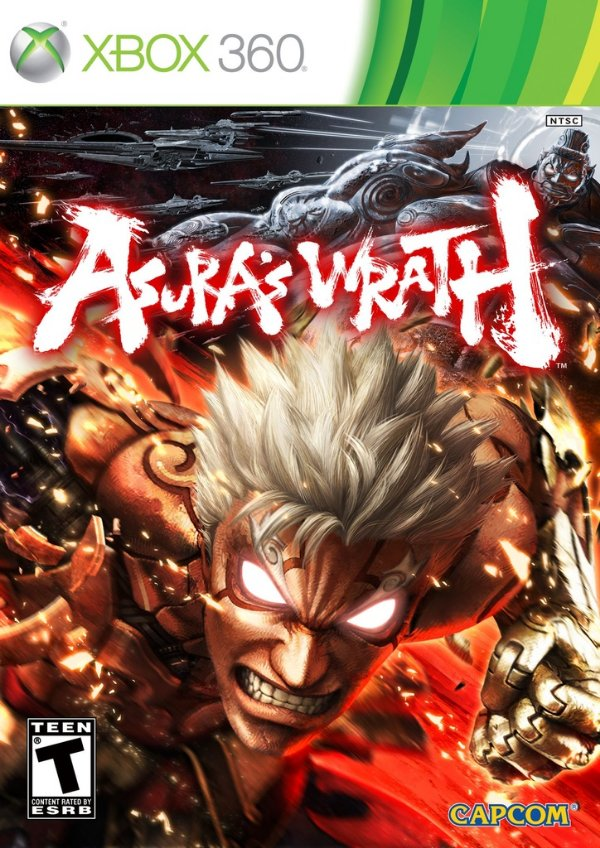 Asura'S Wrath - Xbox 360 - Nerd e Geek - Presentes Criativos
