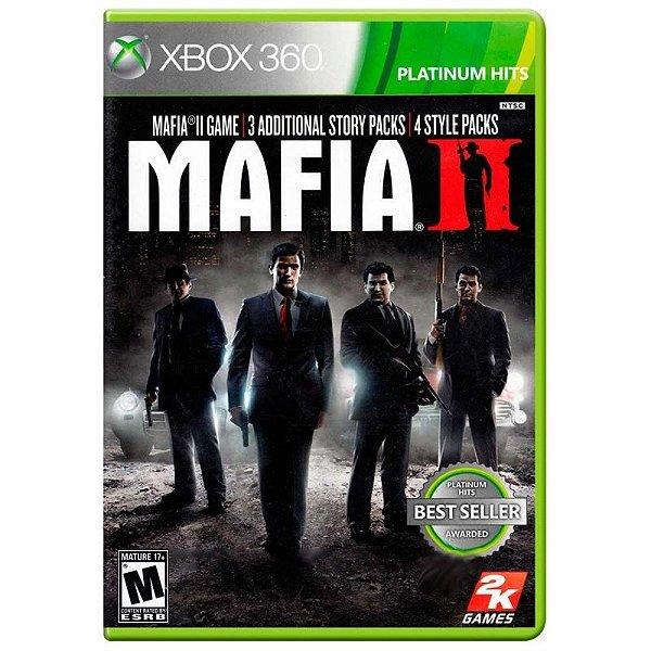 Mafia Ii - Xbox 360 - Nerd e Geek - Presentes Criativos