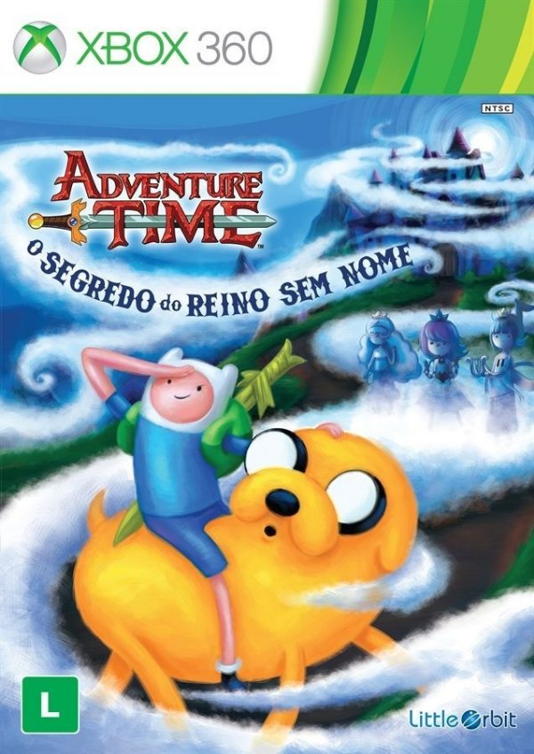 Adventure Time: O Segredo Do Reino Sem Nome - Xbox 360 - Nerd e Geek - Presentes Criativos
