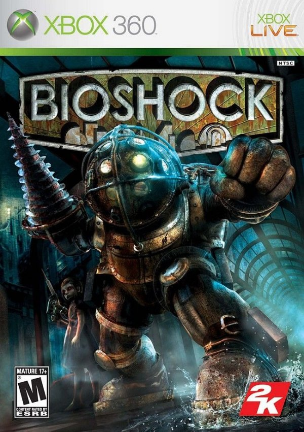 Bioshock - Xbox 360 - Nerd e Geek - Presentes Criativos