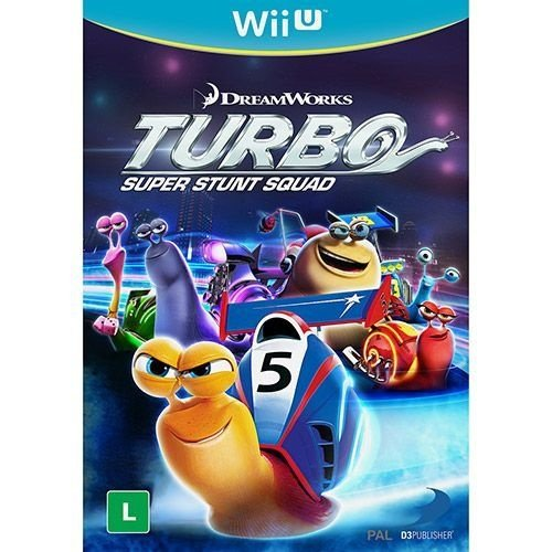 Turbo: Super Stunt Squad - Wii U - Nerd e Geek - Presentes Criativos