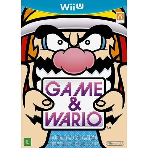 Game & Wario - Wii U - Nerd e Geek - Presentes Criativos