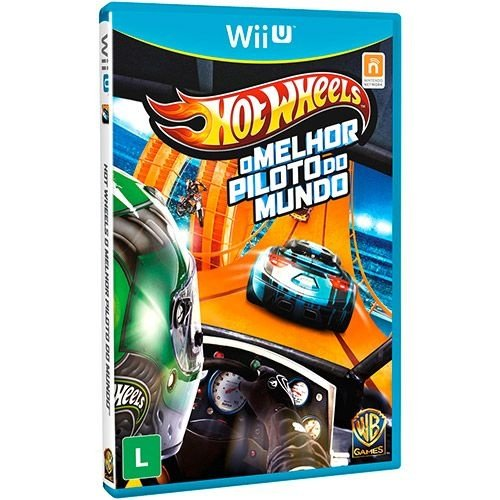 Hot Wheels - O Melhor Piloto Do Mundo - Wii U - Nerd e Geek - Presentes Criativos