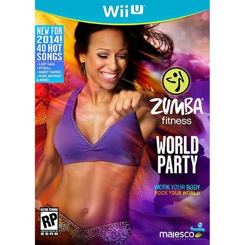 Zumba Fitness World Party Maj - Wii U - Nerd e Geek - Presentes Criativos