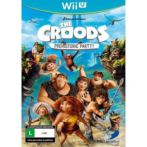 The Croods: Prehistoric Party - Wii U - Nerd e Geek - Presentes Criativos