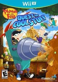 Phineas And Ferb: Quest For Cool Stuff - Wii U - Nerd e Geek - Presentes Criativos