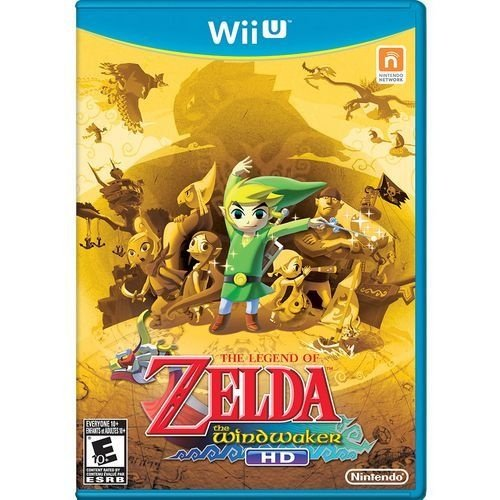 The Legend Of Zelda: The Wind Waker Hd - Wii U - Nerd e Geek - Presentes Criativos