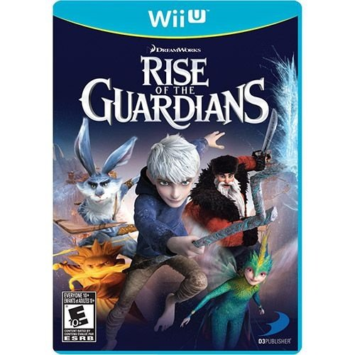 Rise Of The Guardians - Wii U - Nerd e Geek - Presentes Criativos