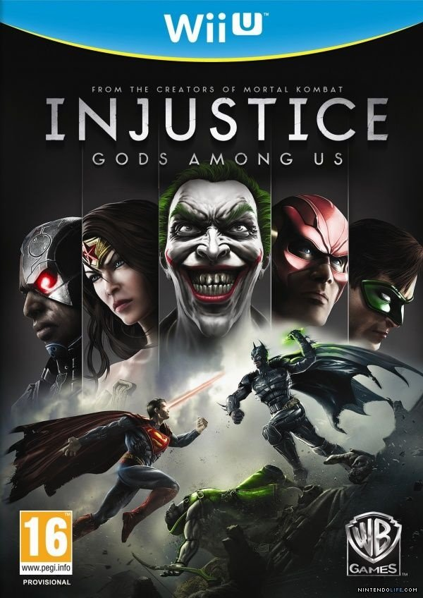 Injustice: Gods Amongus - Wii U - Nerd e Geek - Presentes Criativos