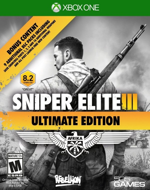 Niper Elite 3: Ultimate Edition - Xbox One - Nerd e Geek - Presentes Criativos