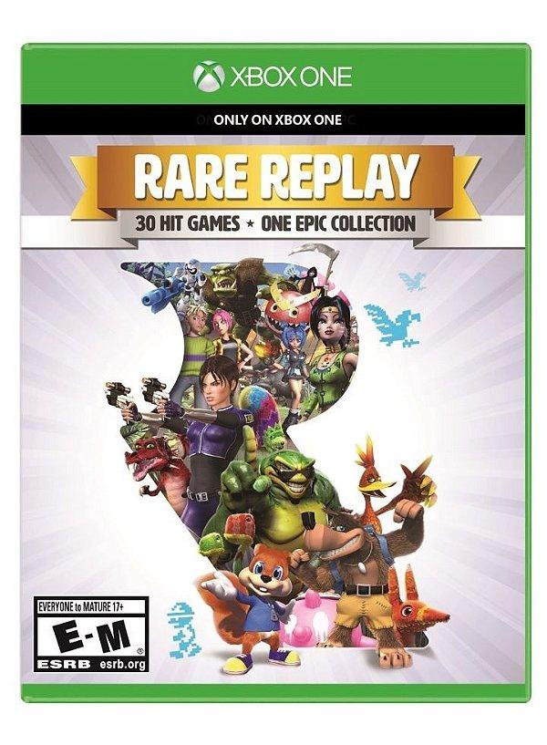 Rare Replay - Xbox One - Nerd e Geek - Presentes Criativos